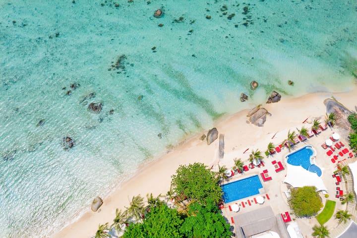 PRIVATE BEACH STUDIO I | Beach-Pool & Freedom