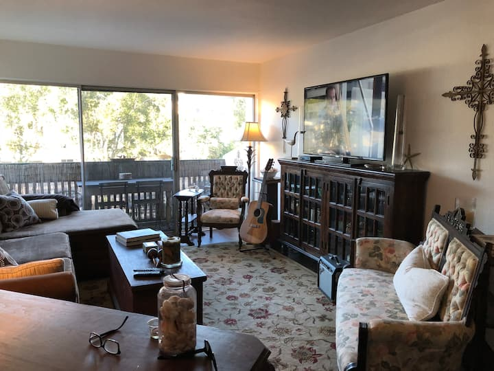 The Writer's Pad San Diego Furnished+guitars!