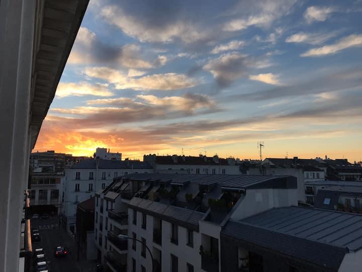 Appartement neuf et lumineux aux portes de Paris