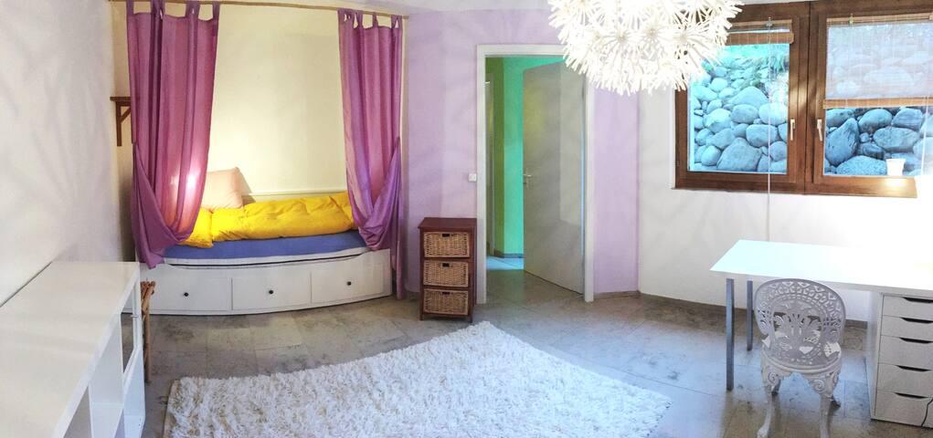 Schönes Zimmer in der Nähe von Zürich/Zug