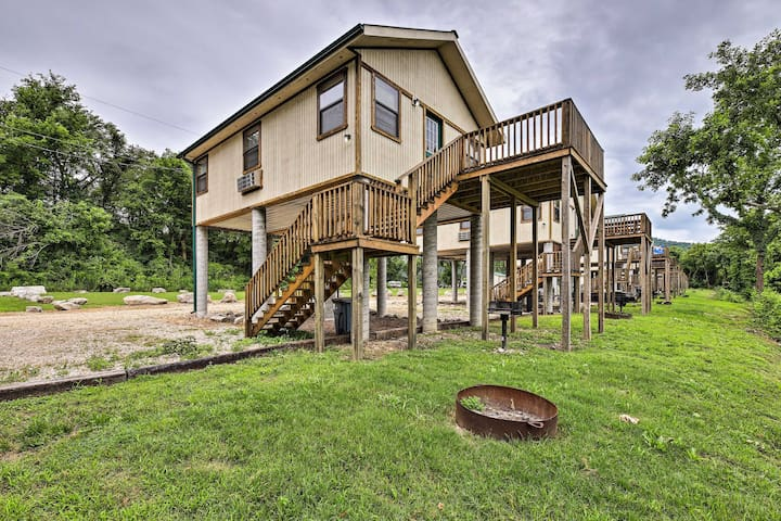 NEW! White River Cabin w/Grill & Resort Amenities