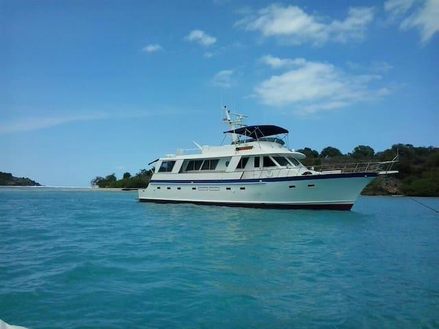 BIG 73' YACHT - Master Suite - Dockyard - Tekne