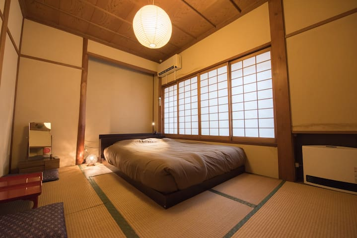Japanese style double room with shared facilities