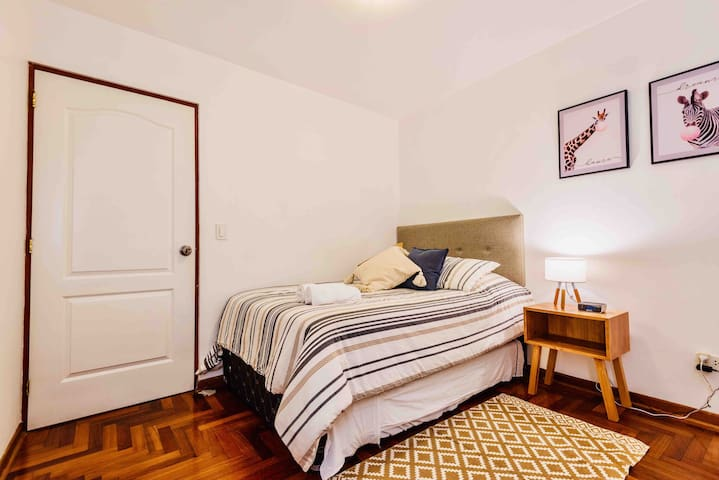 Room 3 has a bed below!!  You'll enjoy a great night's sleep!!