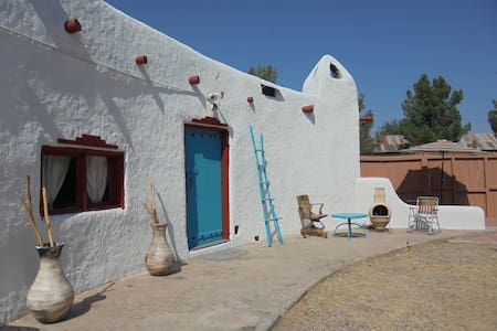 Casita at Church near Hatch NM