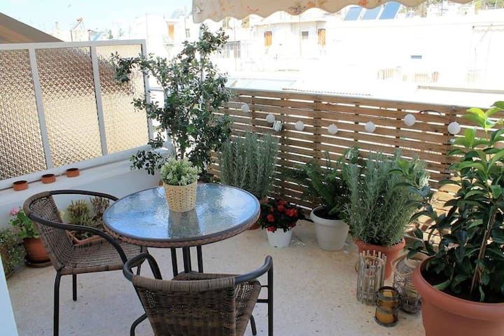 New penthouse close to Acropolis and metro.