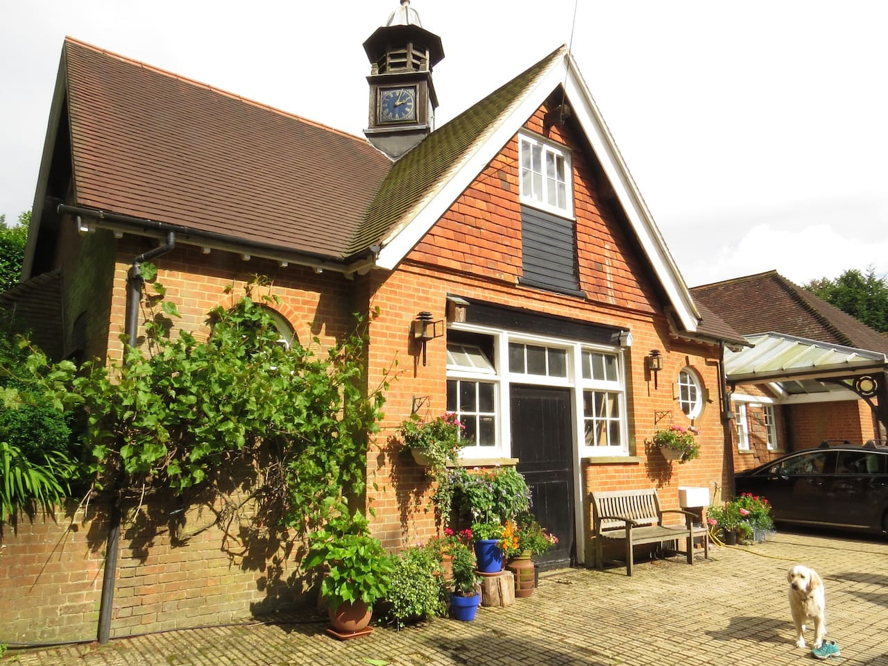 We offer for rent a comfortable, self catering, character cabin on Leith Hill, in the heart of the Surrey Hills.  We welcome cyclists, walkers, bird watchers, or anyone who wishes to retreat here to enjoy our quiet and beautiful surroundings.