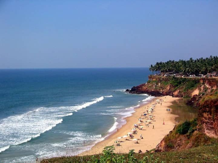 Ocean Breeze at the Varkala Beach