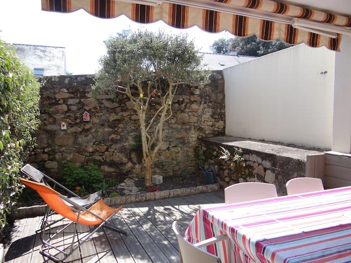 Appartement BATZ SUR MER entre La Baule Le Croisic