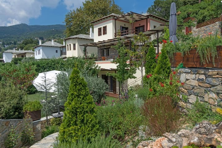 Aenaon Pelion Residence at Milies w private pool - Milies