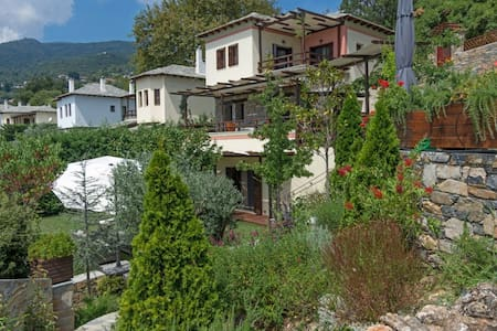Aenaon Pelion Residence at Milies w private pool - Milies - Dom