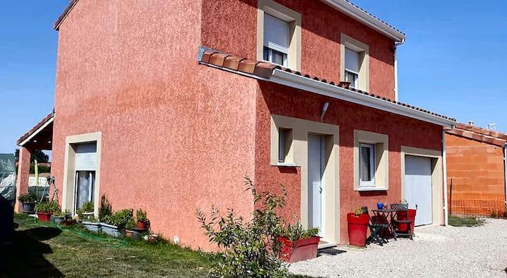 chambre privée dans villa proche Toulouse