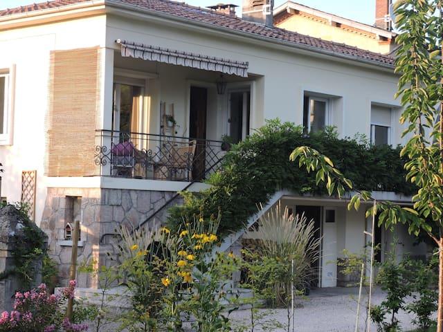 La maison de Frédéric et Sabine