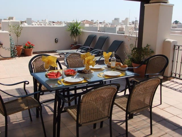 Penthouse with amazing solarium - San Javier - Lägenhet