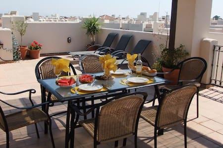 Penthouse with amazing solarium - San Javier