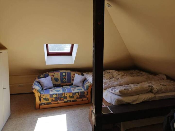 Podkrovní pokoj v RD