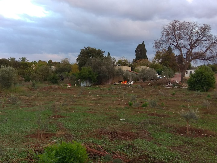 ★Peaceful Moshav ★ Country house with fields view