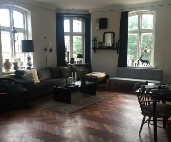 Stor herskabslejlighed- også med plads til børn:) - Odense - Apartamento