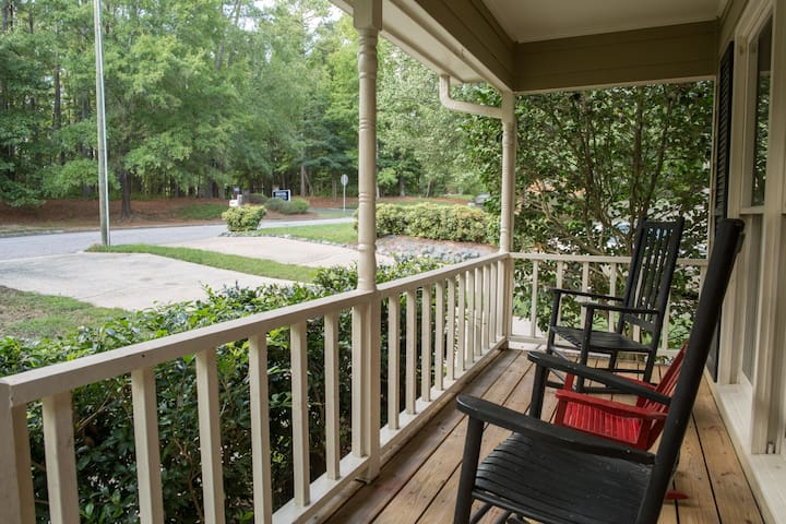 Front porch - waiting for you!