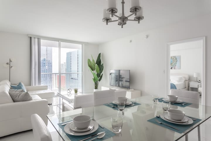 Penthouse in Brickell Miami + Free Parking