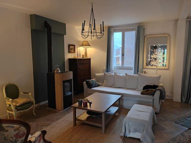 Charmante maison cosy 2pers a 10min de Compiègne