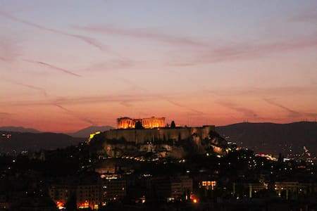 AKROPOLIS VIEW FAMILY 4 TRAVELLERS! - Athina - House
