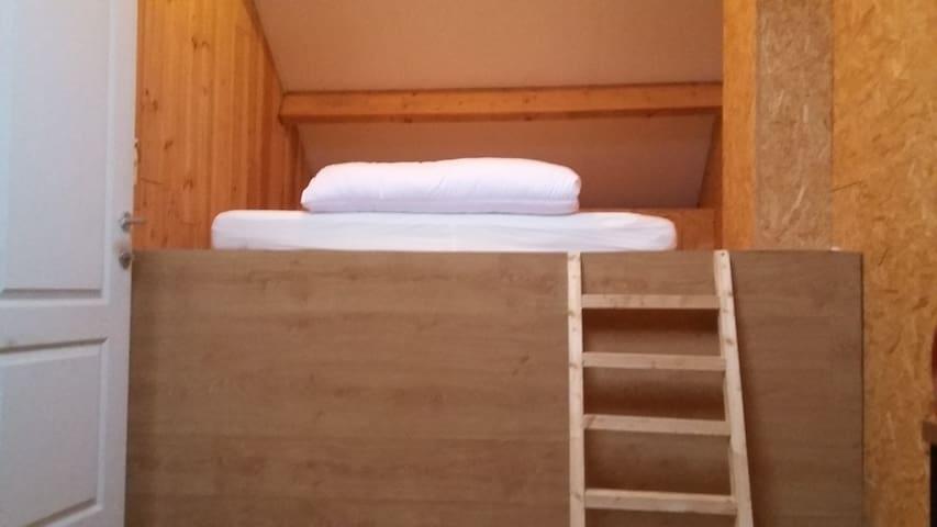 Accès au lit cocon