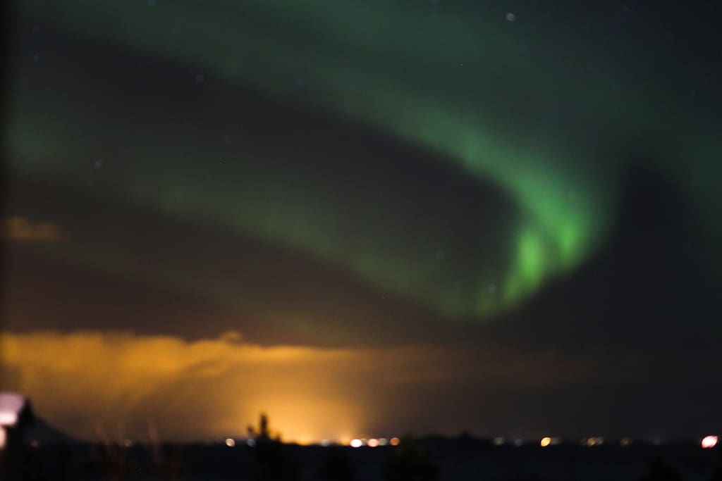 Winter Solstice - Northen lights