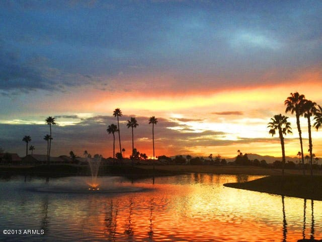 SPRING TRAINING IS HERE-RELAXATION, SUNSET - Sun Lakes