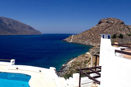 The Villa at Kastelli Bay, Luxury Waterfront Villa - Kalimnos - 別荘