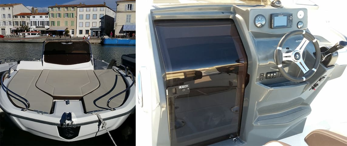 Rent a boat in Trogir and Split, New Boat !
