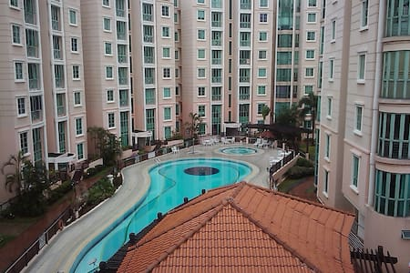 Common Room with swimming pool - Geylang - Appartamento