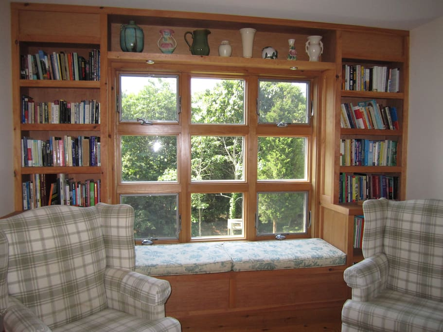 Loft with Reading Window