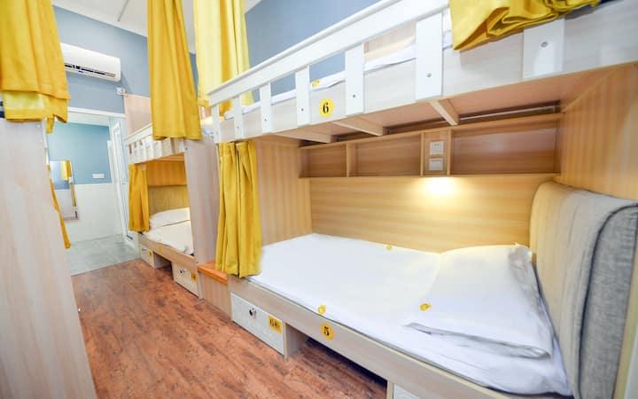 欢乐男生八人间〈一张床位 仅男生入住〉