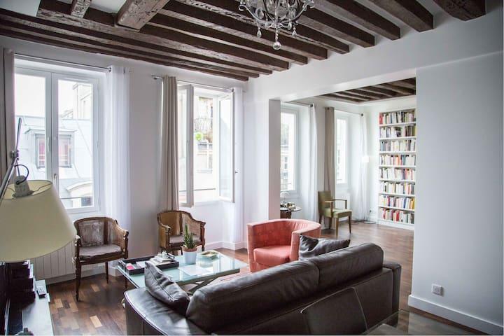Very parisian flat Haut-Marais