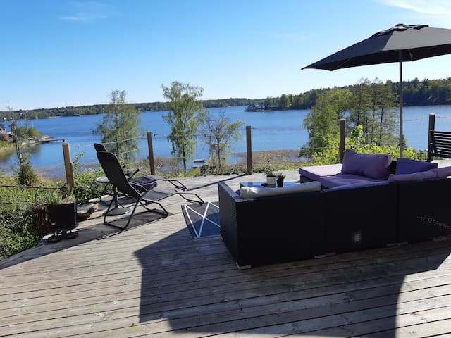Lake House Stockholm stunning Sea View Lake access