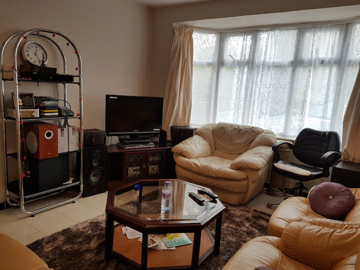 Lovely double room with good views and very comfy