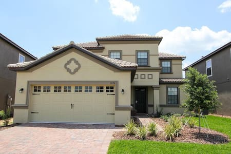 ChampionsGate - Pool Home 5BD/4.5BA - Sleeps 10 - Platinum - RCG541 - Four Corners