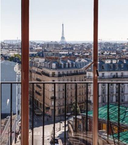 Incroyable vue, canal St Martin - París - Apartamento