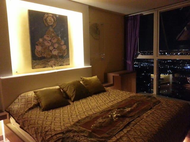 Free pick-up, Bangkok Horizon (City View) - Bangkok - Apartment