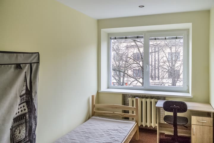Private single or double room in Kaunas center - Kaunas - Apartment