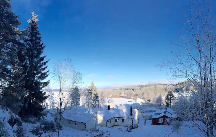 Fantastiskt läge vid Åsunden - Marbäck - Dům