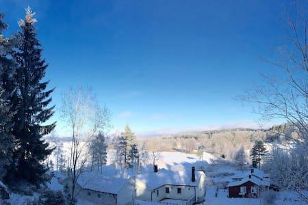Fantastiskt läge vid Åsunden - Marbäck