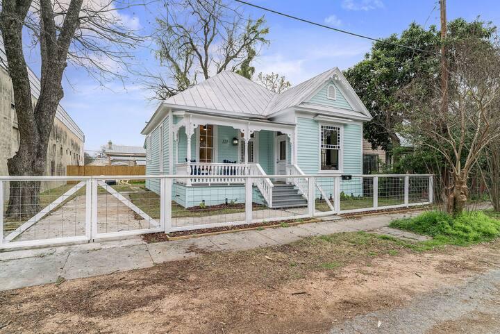 The San Arturo House in Southtown San Antonio