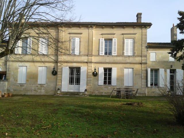 "Chambre ""Merlot Noir"" à Néac - Néac - Talo"