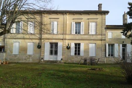 "Chambre ""Merlot Noir"" à Néac - Néac - Haus"