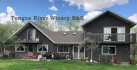 The Vineyard Room at Tongue River Winery B&B