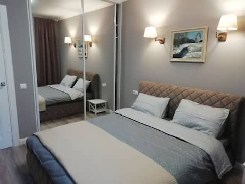 Уютная новая квартира в престижном районе Минска