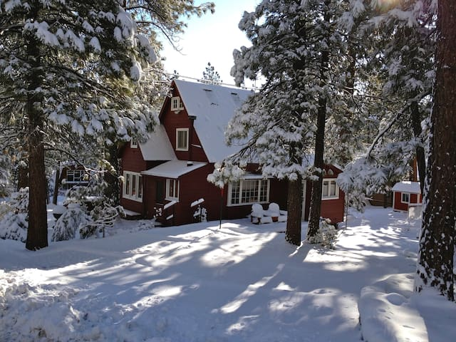 Wrightwood SkiChalet WritersRetreat - Wrightwood - Hus