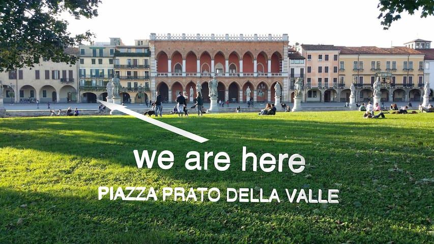 Padova Prato della Valle, wifi e parcheggio gratis